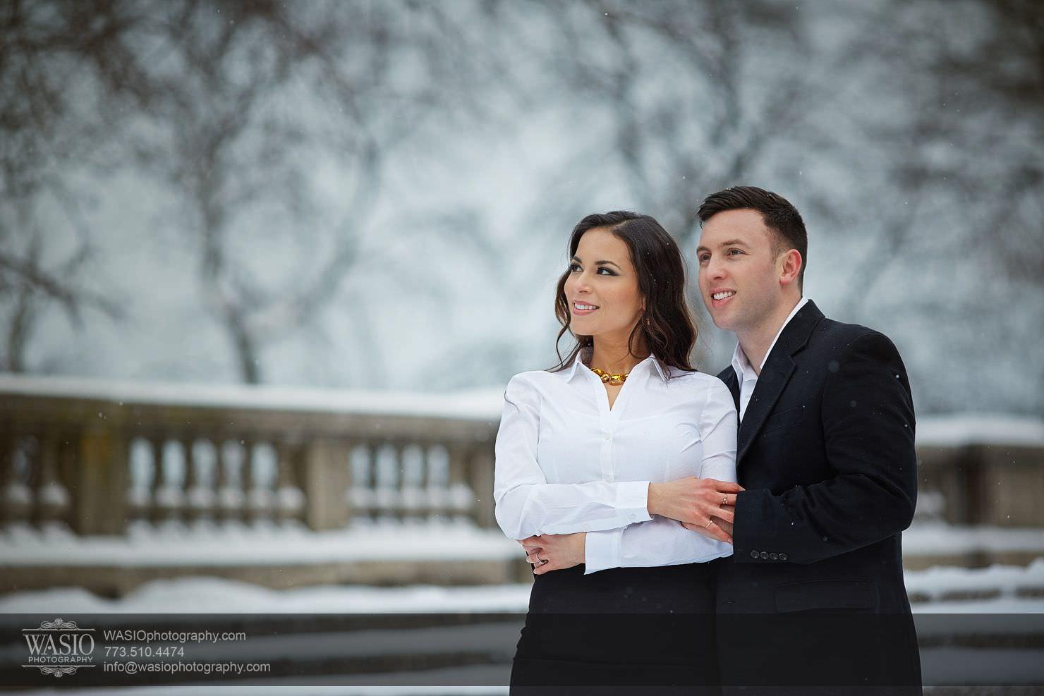 000-Chicago-Winter-Engagement Chicago Winter Engagement - Chrissy + Andrew
