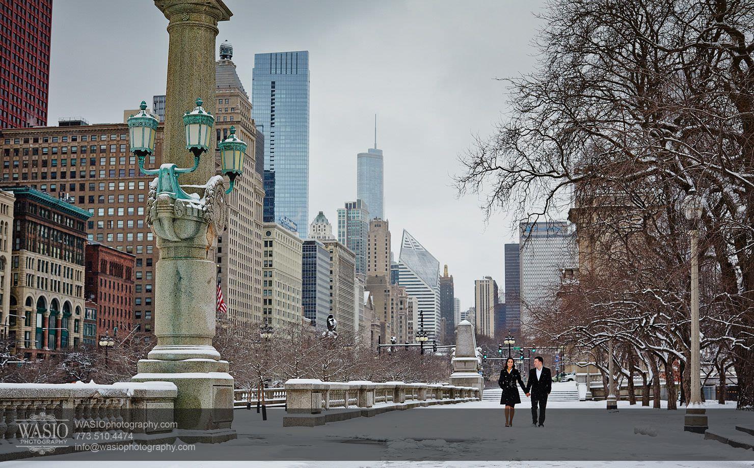 001-Chicago-Winter-Engagement Chicago Winter Engagement - Chrissy + Andrew