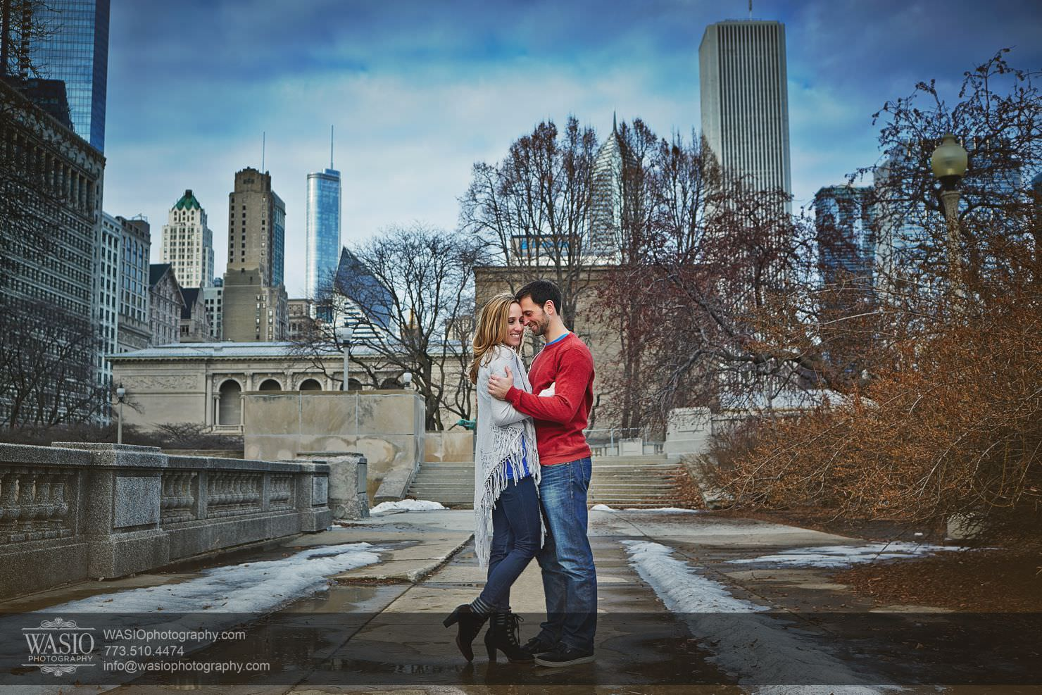 002_Chicago-Winter-Engagement_Courtney-Danny Chicago Winter Engagement - Courtney + Danny