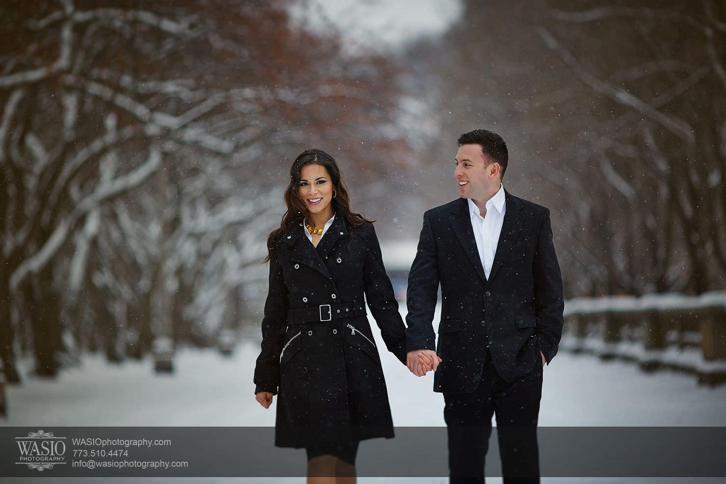 003-Chicago-Winter-Engagement Chicago Winter Engagement - Chrissy + Andrew