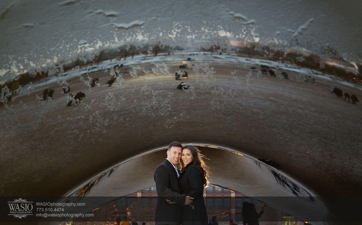 004-Chicago-Winter-Engagement Chicago Winter Engagement - Chrissy + Andrew