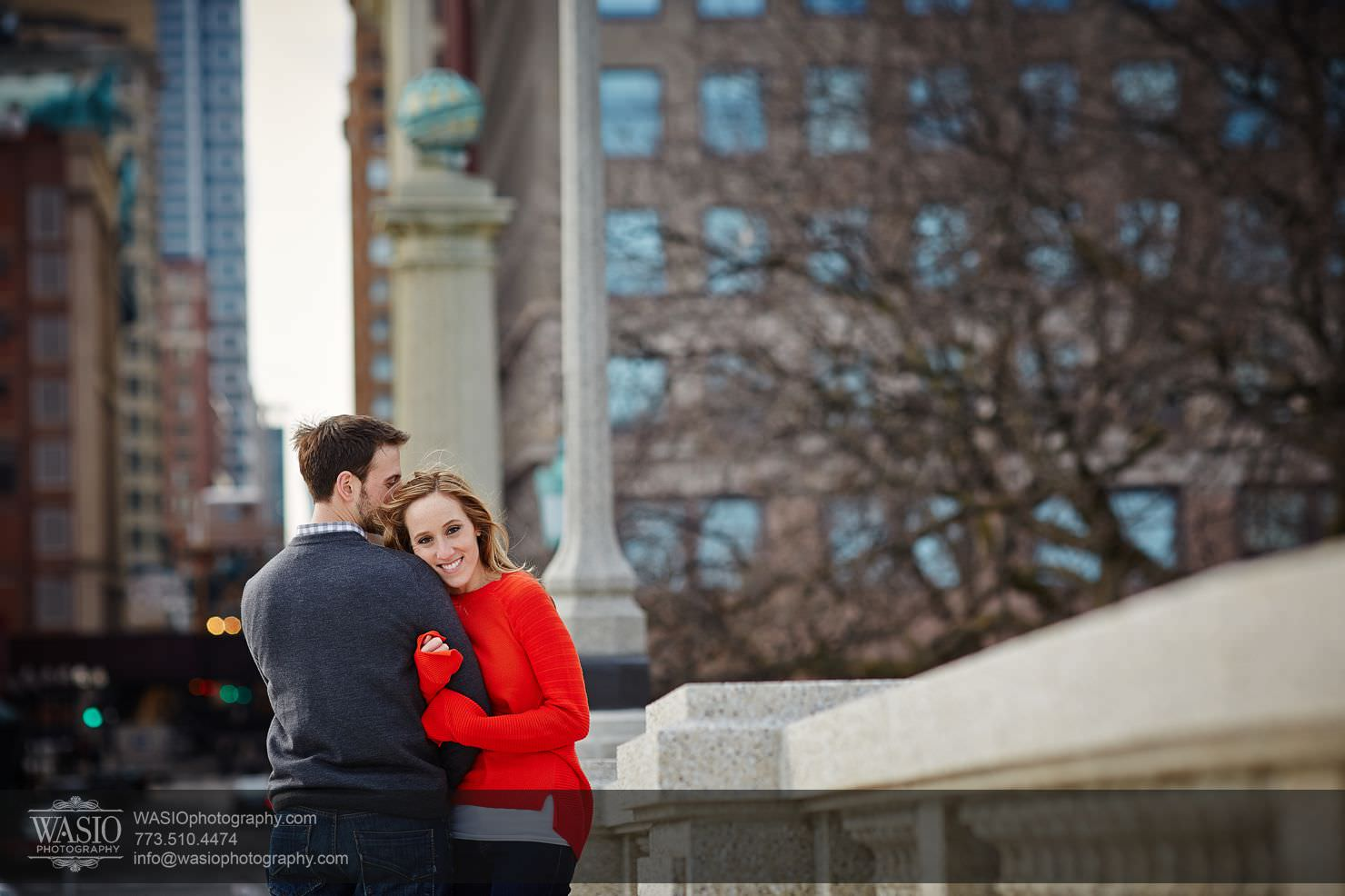 004_Chicago-Winter-Engagement_Courtney-Danny Chicago Winter Engagement - Courtney + Danny