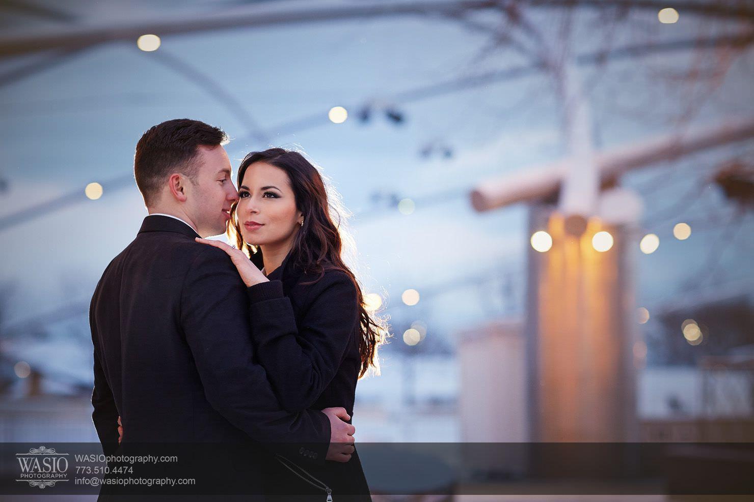 005-Chicago-Winter-Engagement Chicago Winter Engagement - Chrissy + Andrew