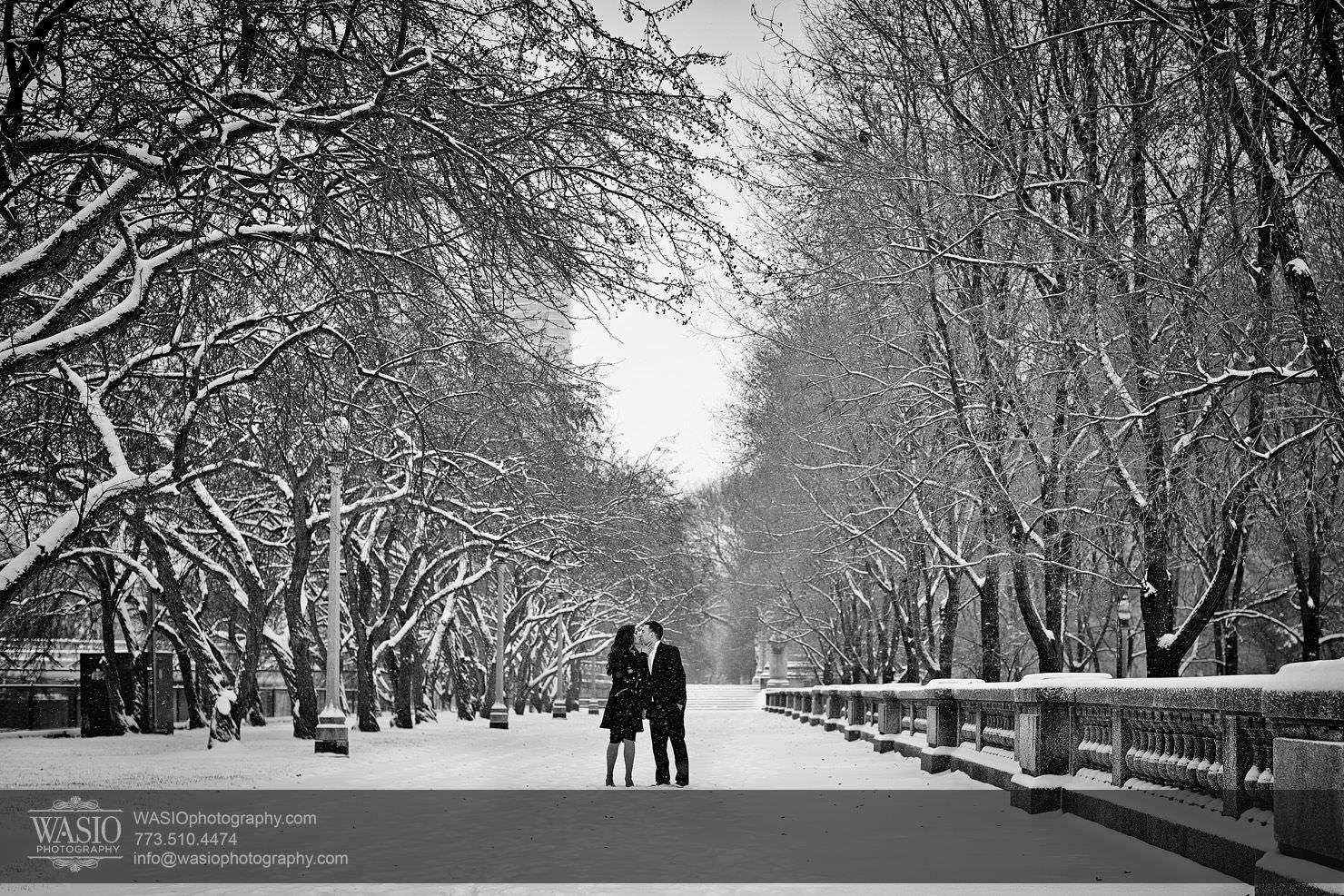 007-Chicago-Winter-Engagement Chicago Winter Engagement - Chrissy + Andrew