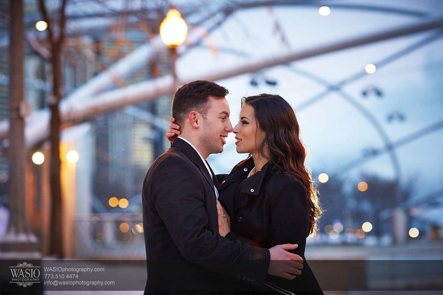 008-Chicago-Winter-Engagement Chicago Winter Engagement - Chrissy + Andrew