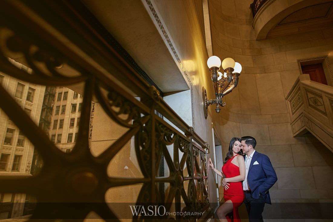 Chicago Spring Engagement Photos – Joanna and Matt