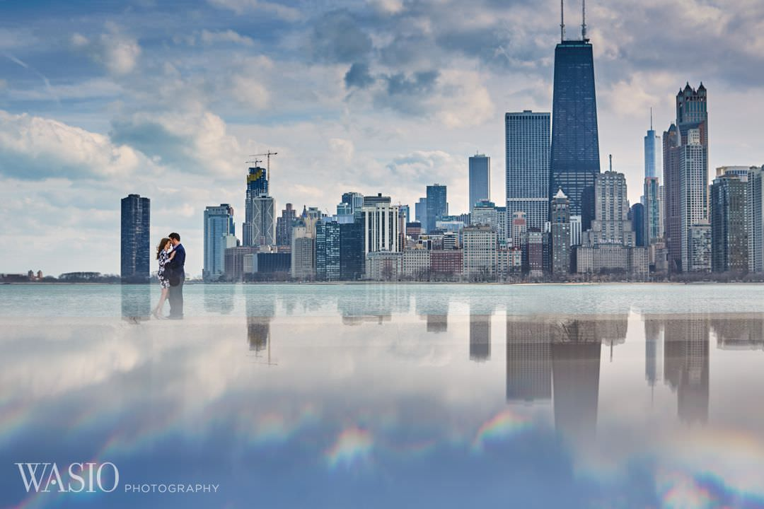 01-Chicago-engagement-north-avenue-beach Spring Engagement session - Stephanie + Zach