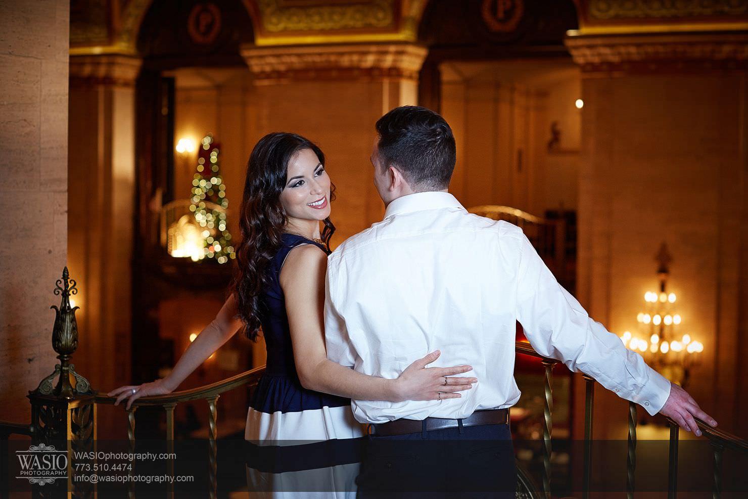 010-Chicago-Winter-Engagement Chicago Winter Engagement - Chrissy + Andrew