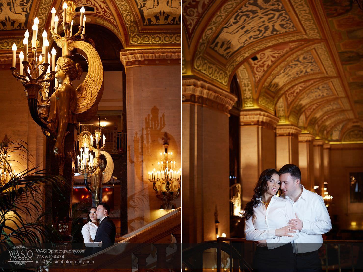 011-Chicago-Winter-Engagement Chicago Winter Engagement - Chrissy + Andrew