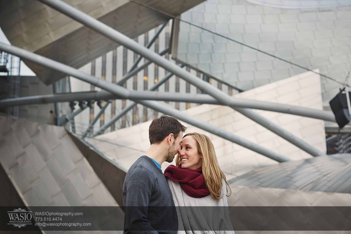 013_Chicago-Winter-Engagement_Courtney-Danny Chicago Winter Engagement - Courtney + Danny
