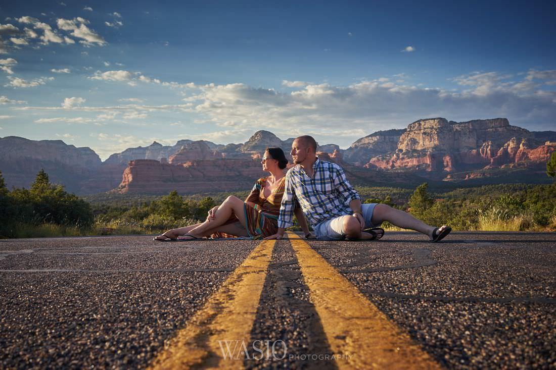 013_Sedona-arizona-sunset_DSC06118 Chicago Wedding Photographer Travels - Magdalena + Marcin