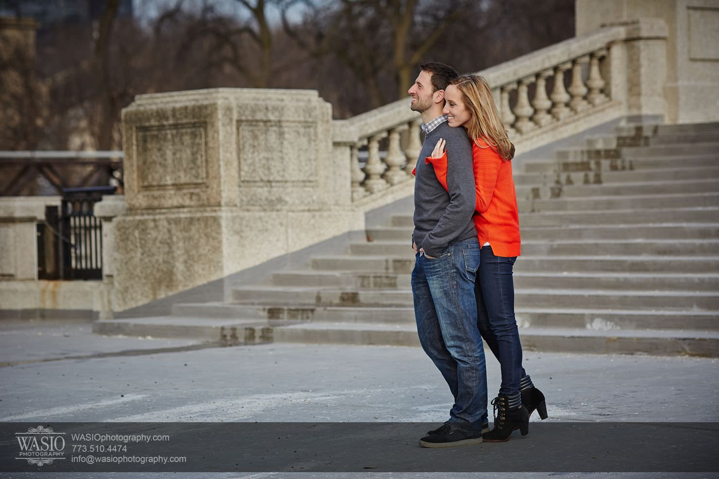 014_Chicago-Winter-Engagement_Courtney-Danny Chicago Winter Engagement - Courtney + Danny