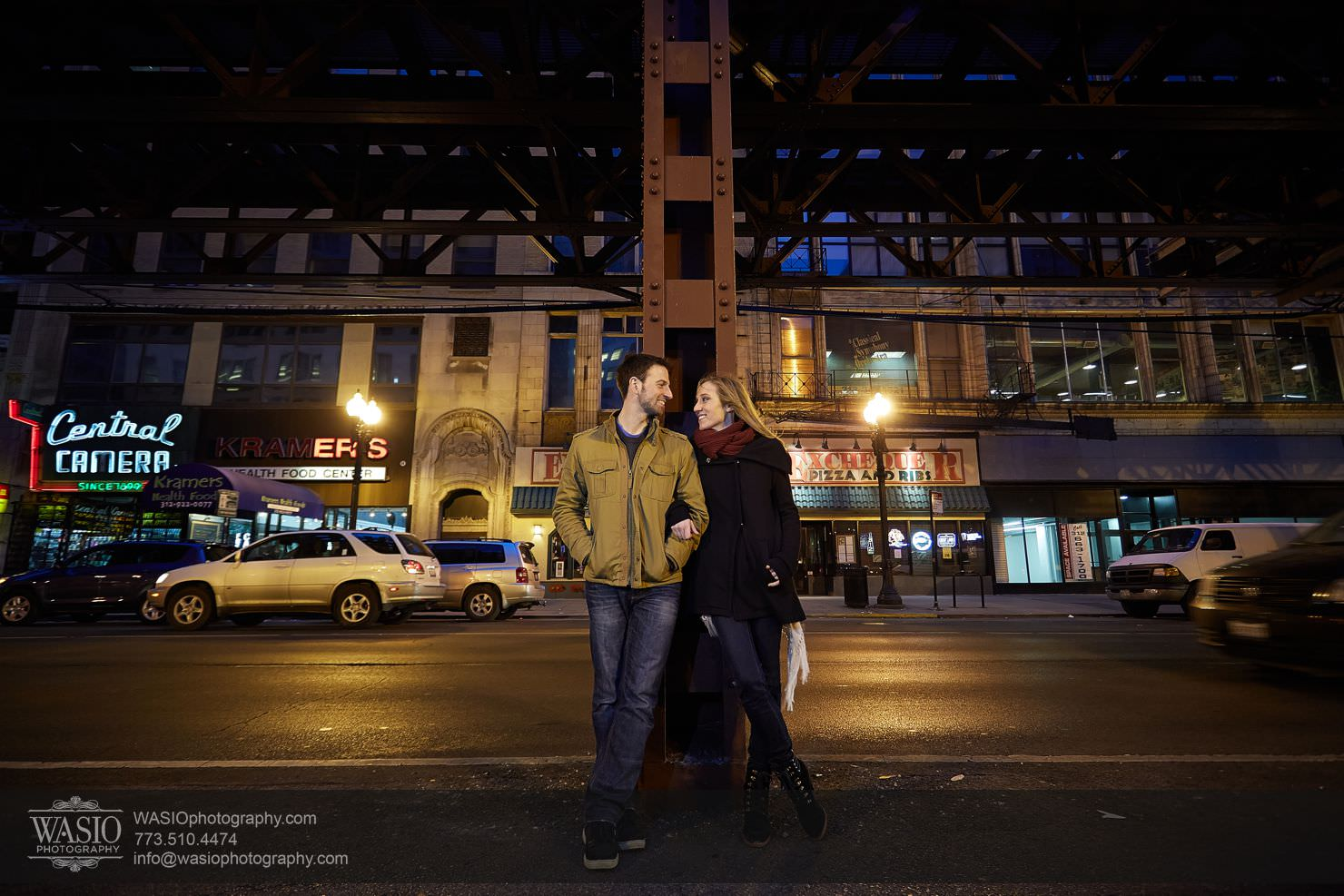 016_Chicago-Winter-Engagement_Courtney-Danny Chicago Winter Engagement - Courtney + Danny