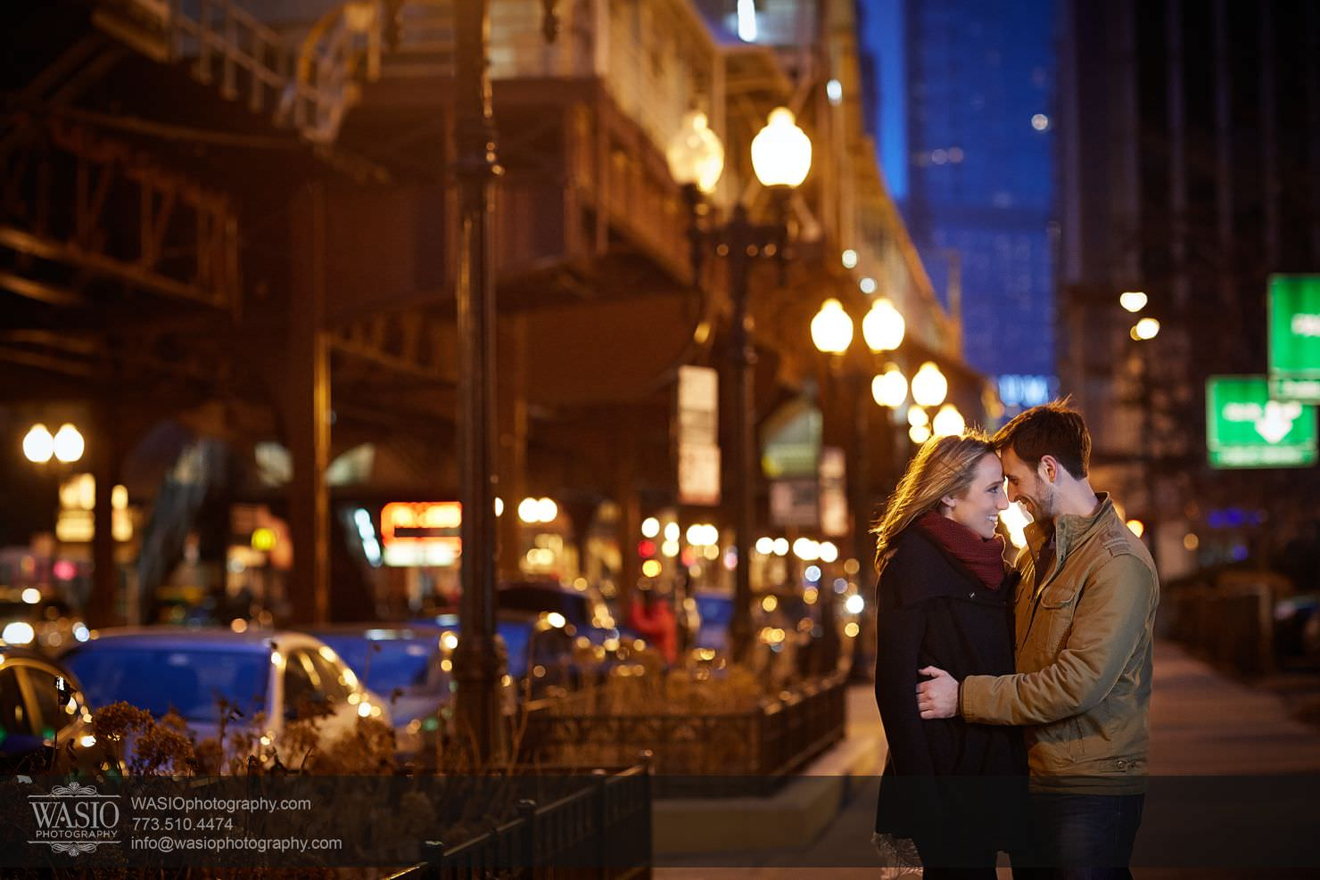 018_Chicago-Winter-Engagement_Courtney-Danny Chicago Winter Engagement - Courtney + Danny