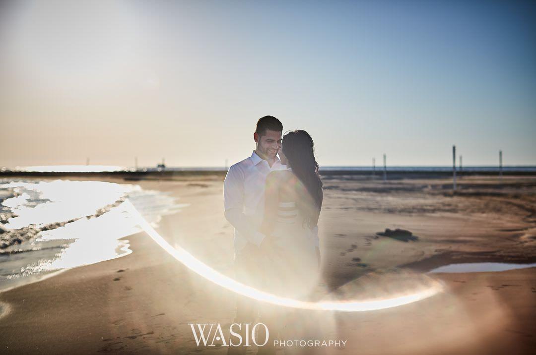 03-chicago-engagement-sunrise-wedding-best Chicago Sunrise Engagement Session - Sara + Peter