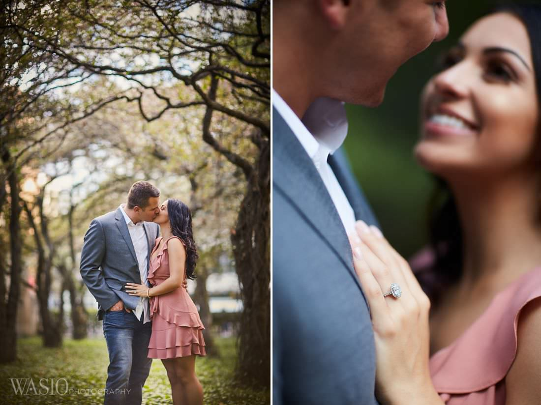 03-chicago-love-romantic-classy-session-downtown-engagement Chicago Fall Engagement Photos - Adriana + Garrett