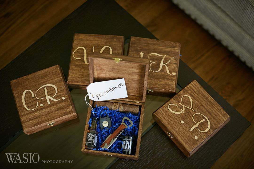 03-greek-wedding-chicago-groomsmen-gifts Chicago Greek Wedding - Christina and Chronis