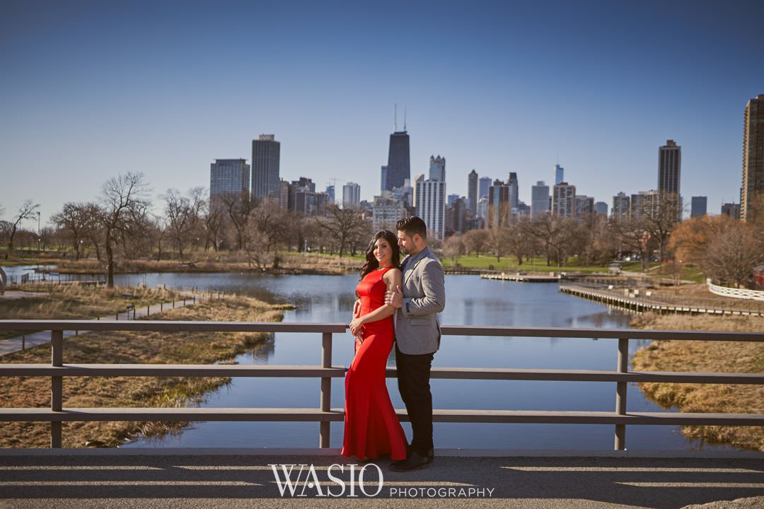 05-chicago-engagement-sunrise-downtown Chicago Sunrise Engagement Session - Sara + Peter