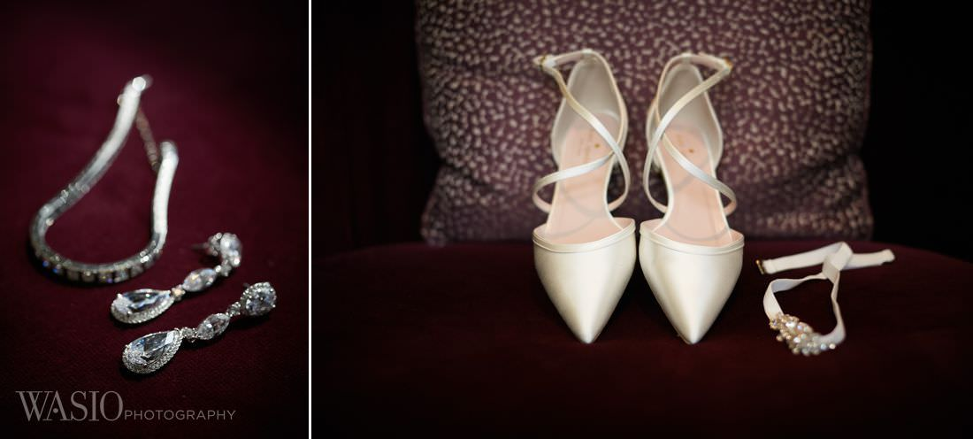 05-rosemeont-wedding-details-high-heels-preparation-badgley-mischka The Estate by Gene and Georgetti Wedding - Agnes and Ryan