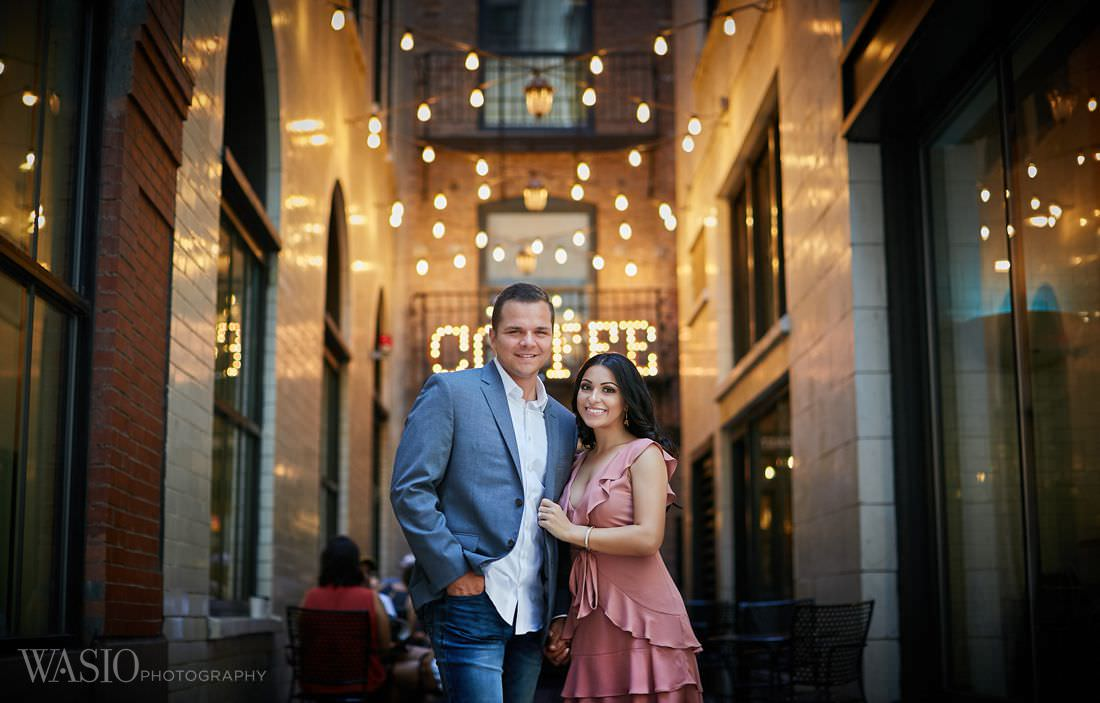 Chicago Fall Engagement Photos – Adriana + Garrett
