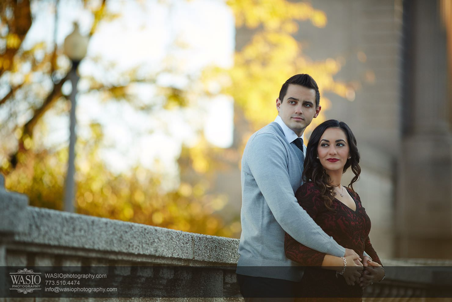 06_Chicago-Fall-Engagement_3P4C4987 Chicago Fall Engagement - Rubina + Eric