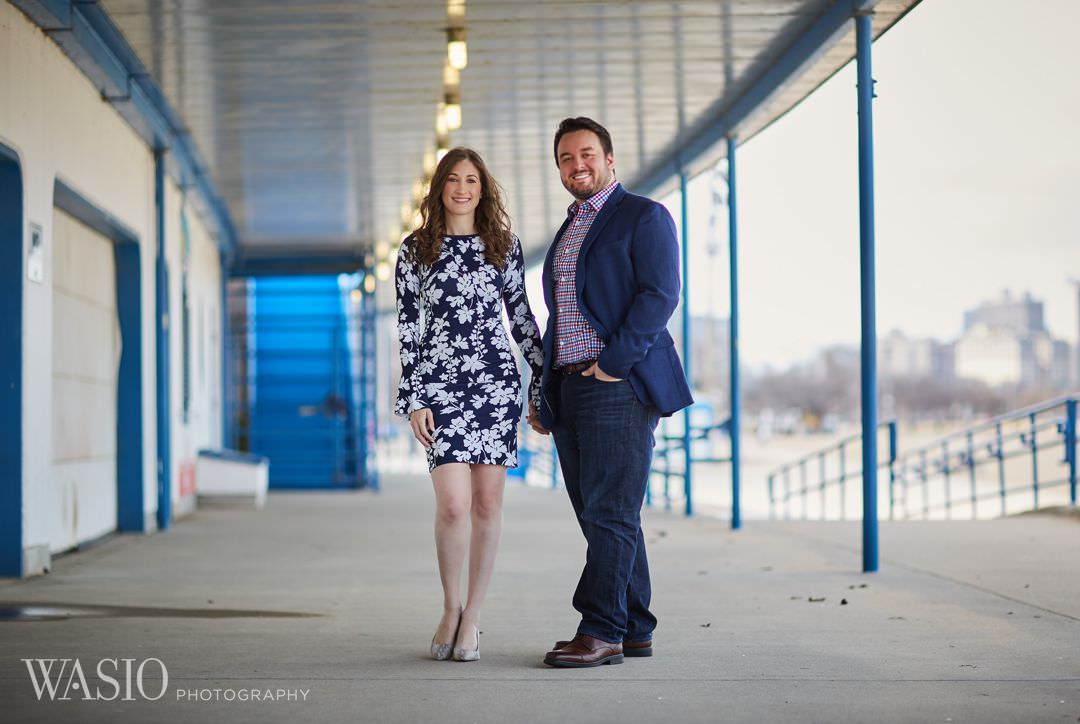 07-Chicago-engagement-castaways Spring Engagement session - Stephanie + Zach