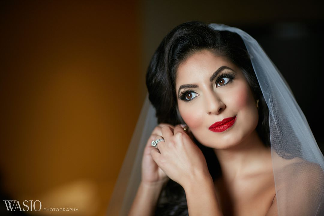 07-bride-portrait-wedding-photography-makeup-elegant Knickerbocker Hotel, Chicago Wedding - Magdalynn + Joseph