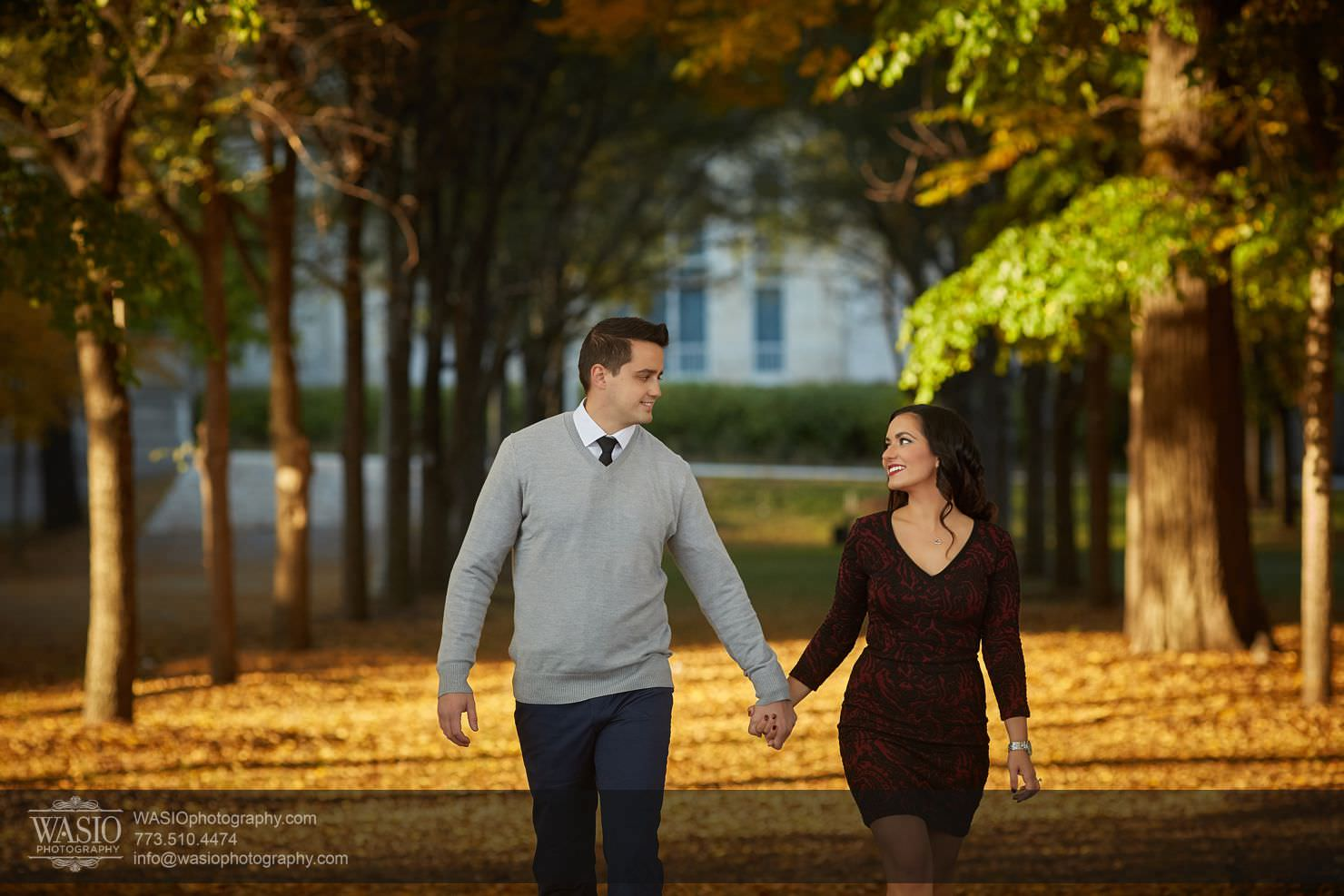 07_Chicago-Fall-Engagement_3P4C5054 Chicago Fall Engagement - Rubina + Eric