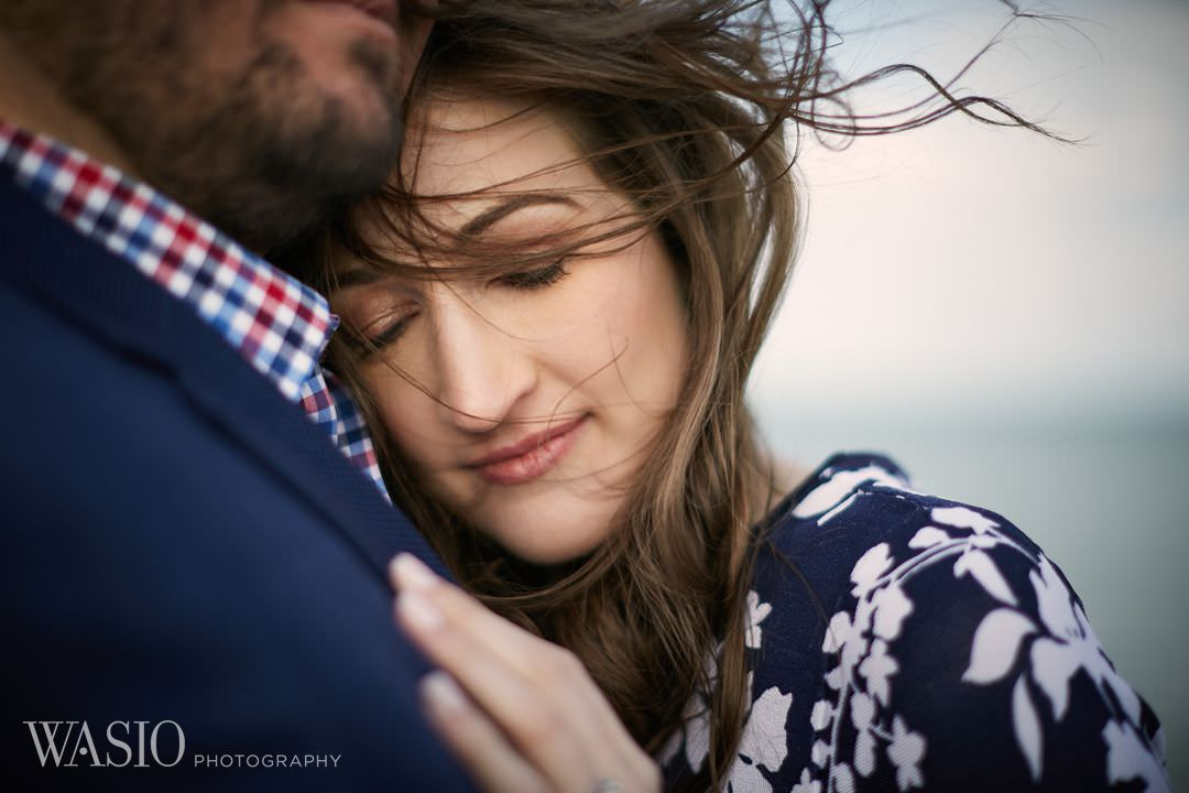 11-Chicago-engagement-romantic-windy Spring Engagement session - Stephanie + Zach