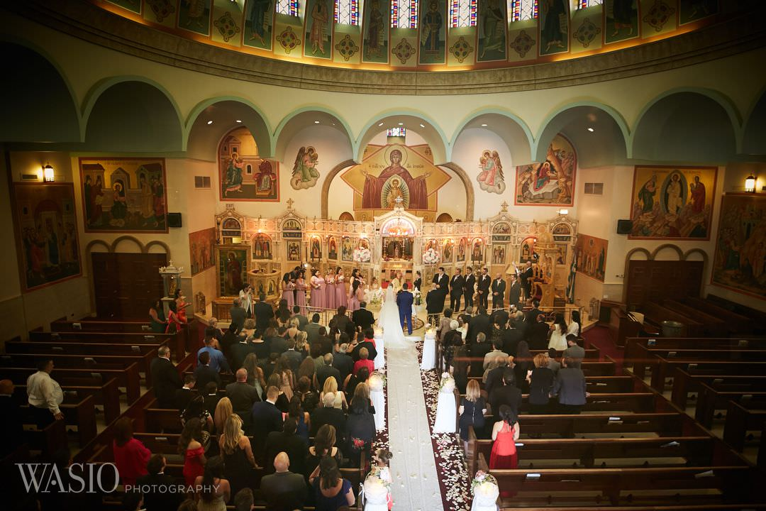 11-greek-wedding-chicago-church-orthodox-bridal Chicago Greek Wedding - Christina and Chronis