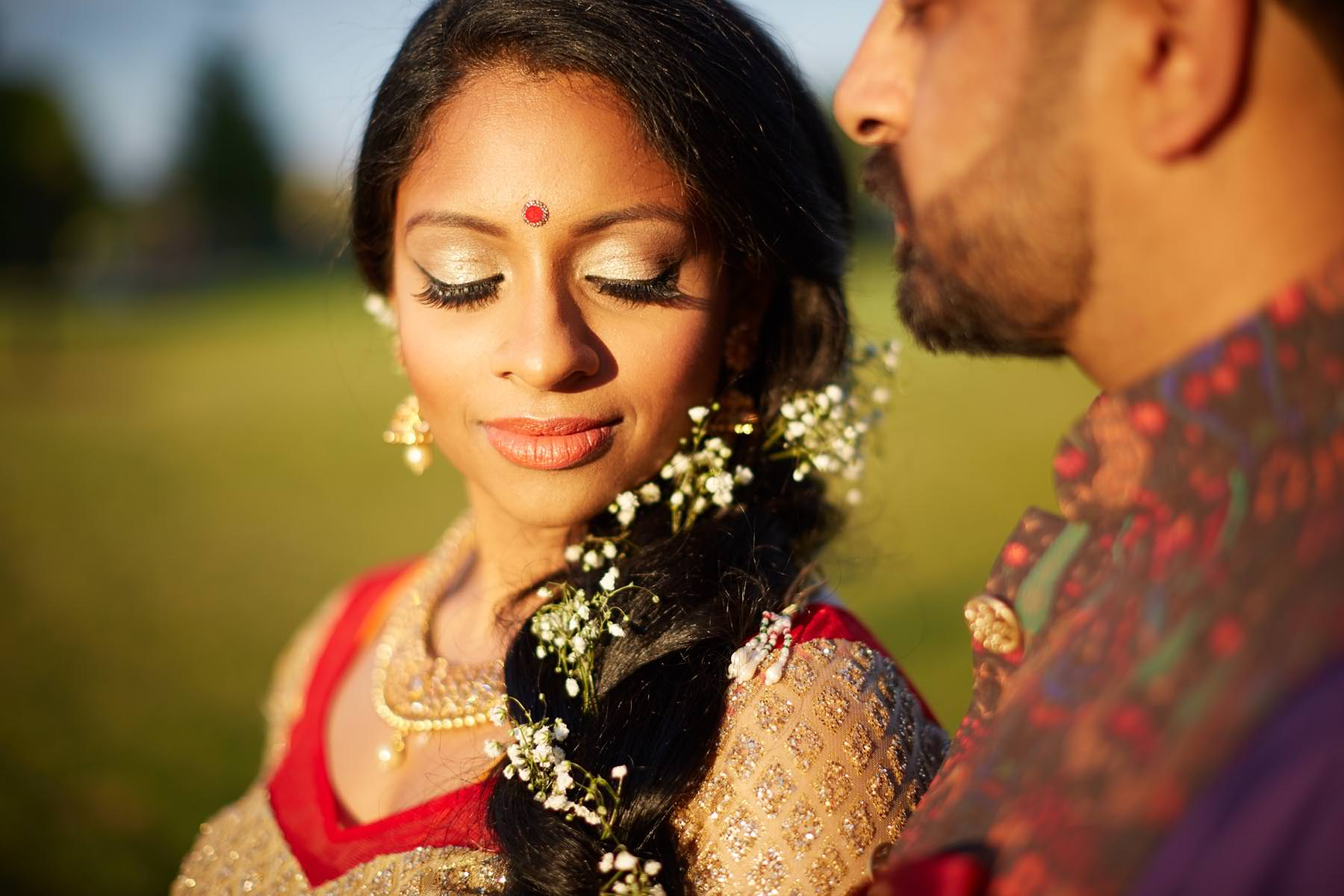 14-indian-portrait-bride-wedding-day-makeup-chicago-country-club 5 Steps to Finding The Perfect Wedding Photographer