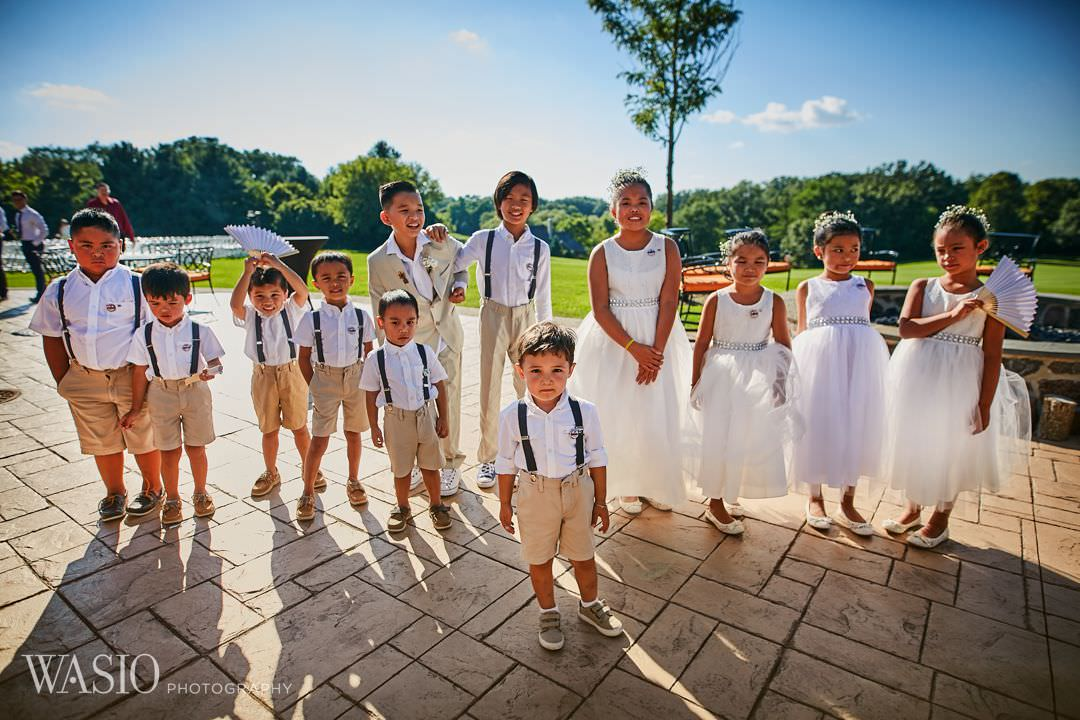 16-bull-valley-golf-club-chicago-wedding-flower-girls-kids Bull Valley Golf Club Wedding - Linh and Tony