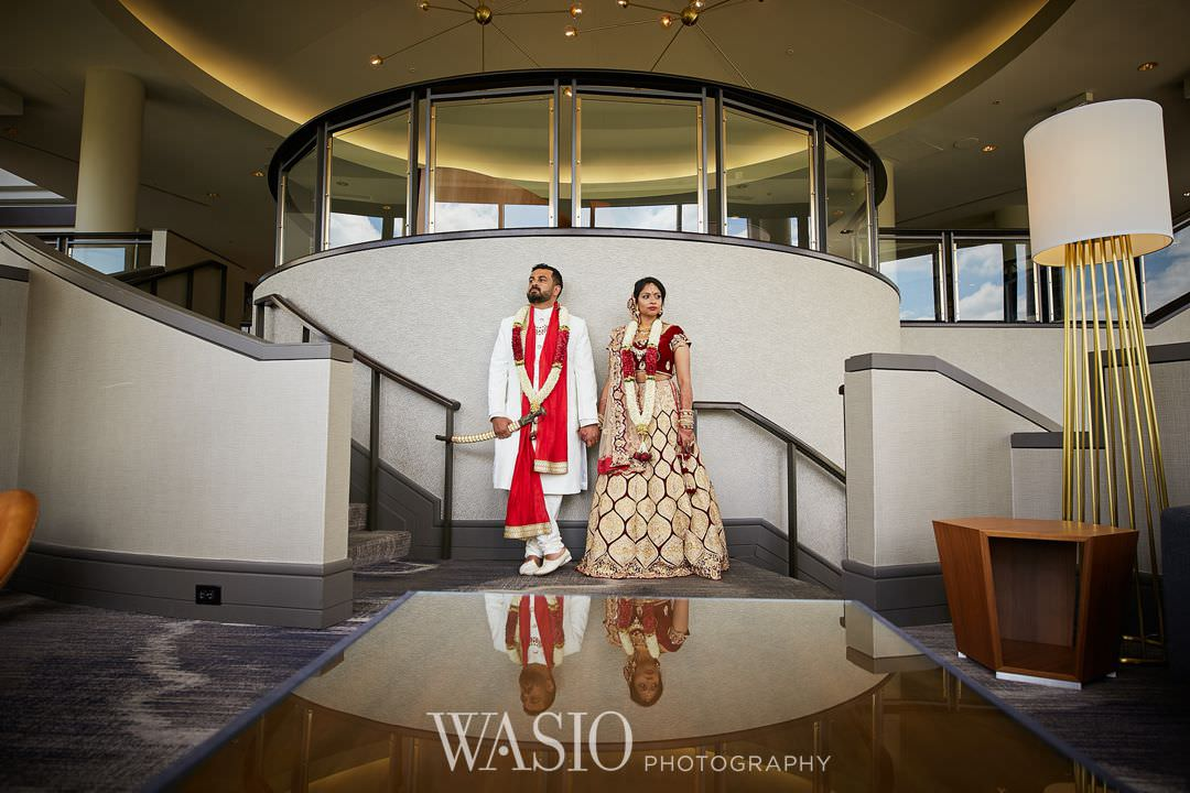22-Indian-wedding-chicago-oak-brook-marriott Indian Wedding at Rosemont Convention Center - Arya and Arpit