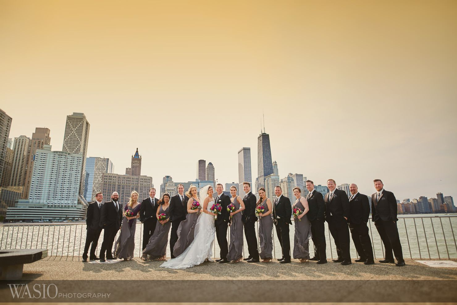 22_Venue-One-Wedding_Chicago_the-wit_Olive-Park_0O3A3069 Venue One Wedding - Tracy & John