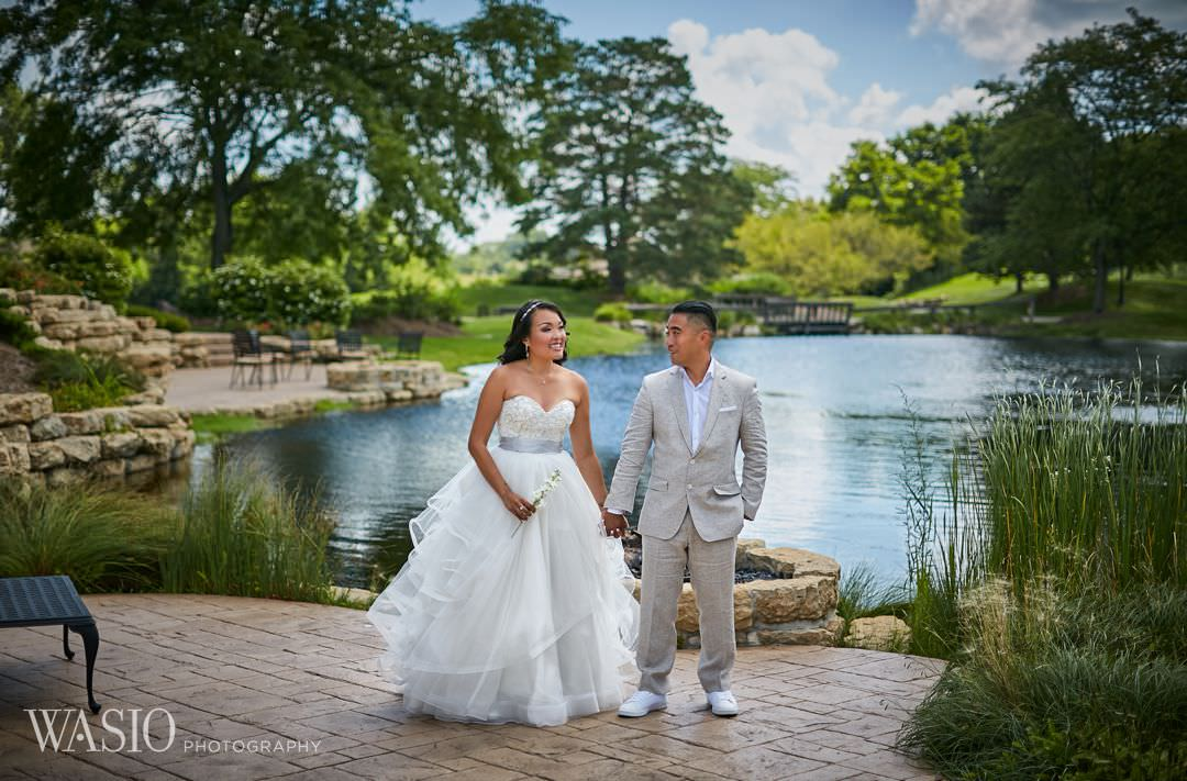 23-bull-valley-golf-club-chicago-wedding-portrait Bull Valley Golf Club Wedding - Linh and Tony