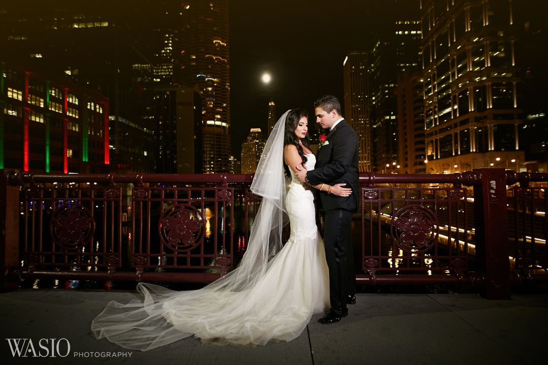 23-elegant-wedding-classy-bride-dress-chicago Knickerbocker Hotel, Chicago Wedding - Magdalynn + Joseph