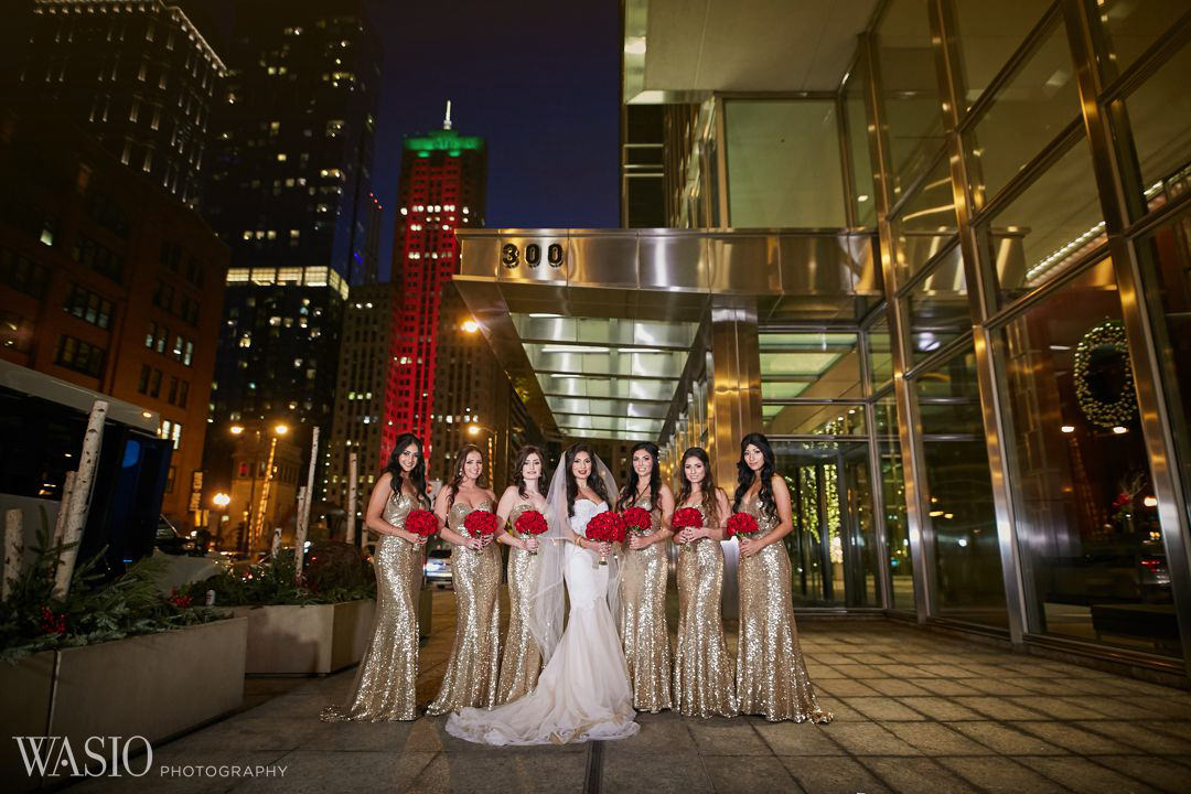24-chicago-wedding-elegant-classy-bride-gold-dress Knickerbocker Hotel, Chicago Wedding - Magdalynn + Joseph