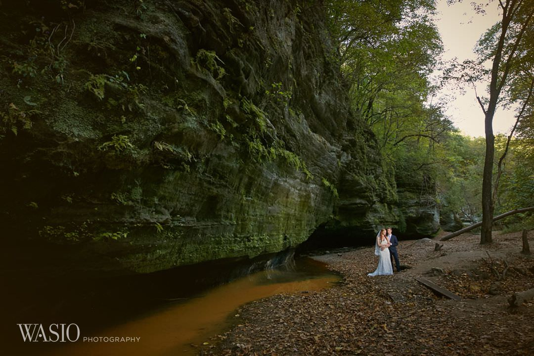 24-chicago-wedding-photography-couple-portrait-day Starved Rock Ottawa Utica Wedding - Emily & Nathan