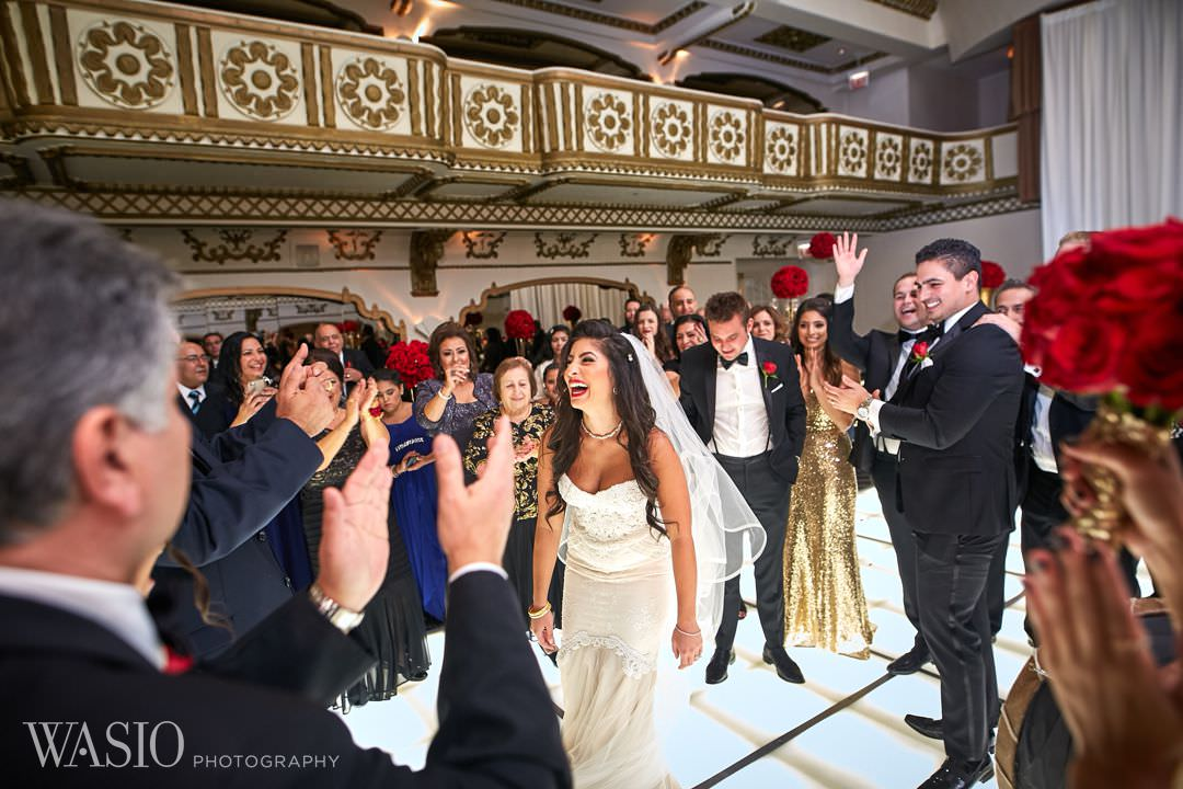 29.3-happy-bride-knickerbocker-hotel-wedding Knickerbocker Hotel, Chicago Wedding - Magdalynn + Joseph