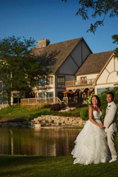 Bull Valley Golf Club Wedding – Linh and Tony