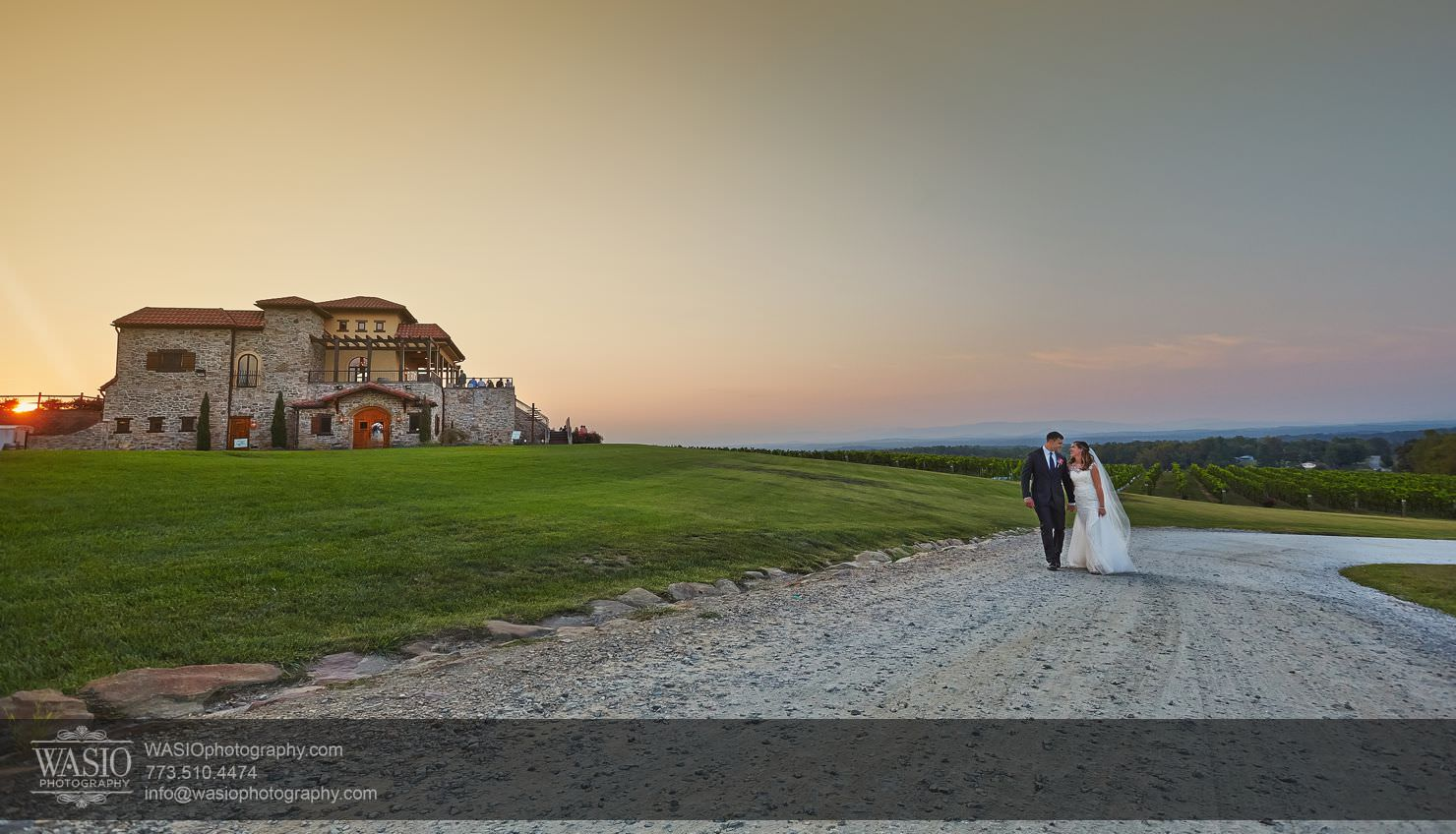 Raffaldini Vineyards Wedding – Christine & Lawson