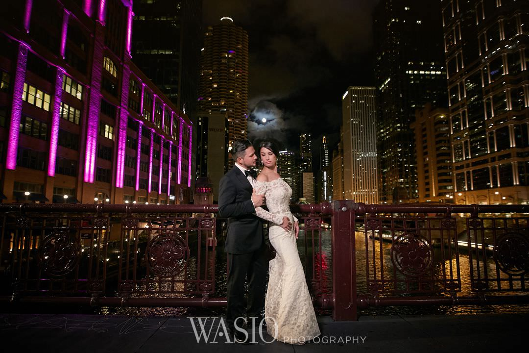 36-chicago-trump-tower-wedding-river-roast-restaurant Chicago River Roast Wedding - Joanna + Mateusz