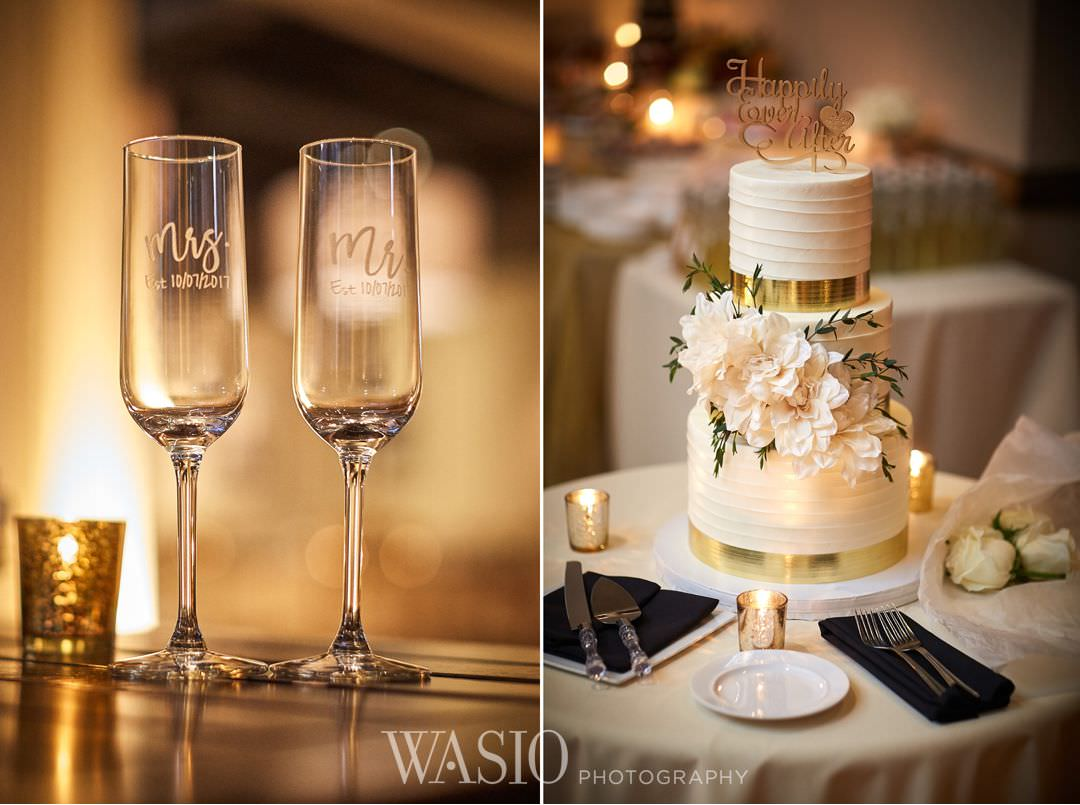 44-chicago-trump-tower-wedding-river-roast-cake-decor Chicago River Roast Wedding - Joanna + Mateusz