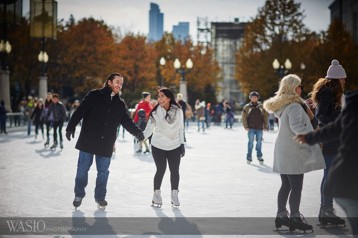 4_Chicago-Winter-Engagement__P4C1698 Chicago Winter Engagement Photos - Ingrid and Peter