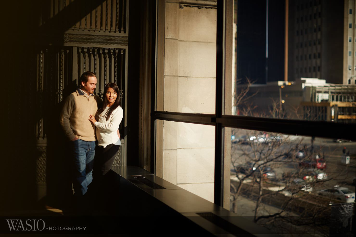 9_Chicago-Winter-Engagement__P4C1487-1 Chicago Winter Engagement Photos - Ingrid and Peter