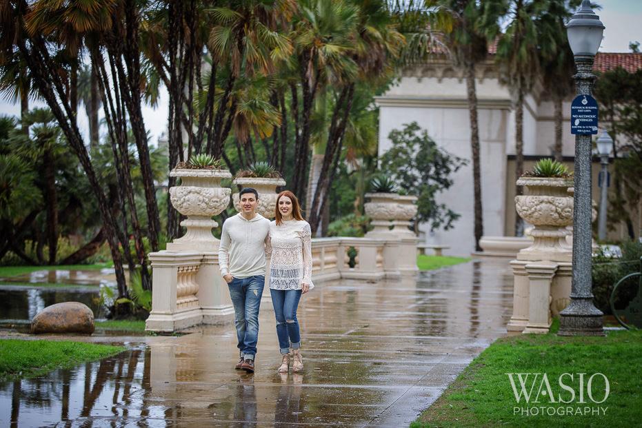 Balboa-Park-Engagement-Sunrise-Intimate-Photo-Session-Reflections Balboa Park Engagement with Alyssa and Salvatore