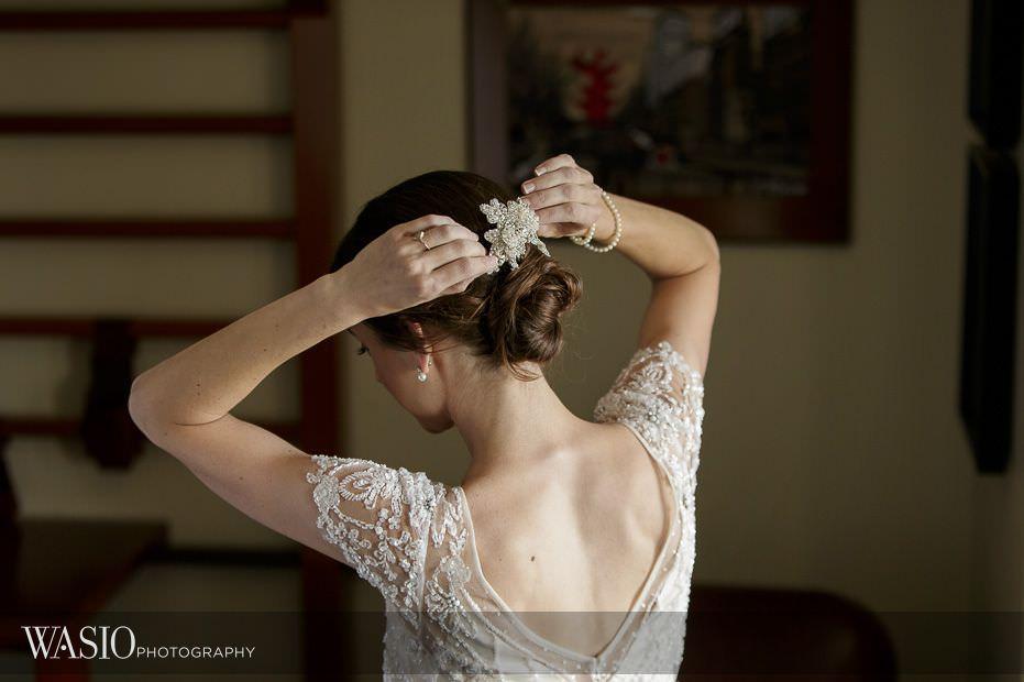 Chicago-Athletic-Association-Wedding-BHLDN-bridal-gown-hair-piece-136 Chicago Athletic Association Wedding - Allison and Clayton