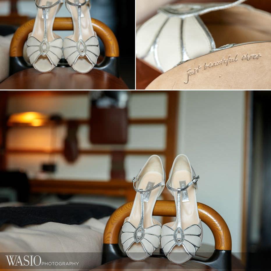 Chicago-Athletic-Association-Wedding-BHLDN-wedding-shoes-157 Chicago Athletic Association Wedding - Allison and Clayton
