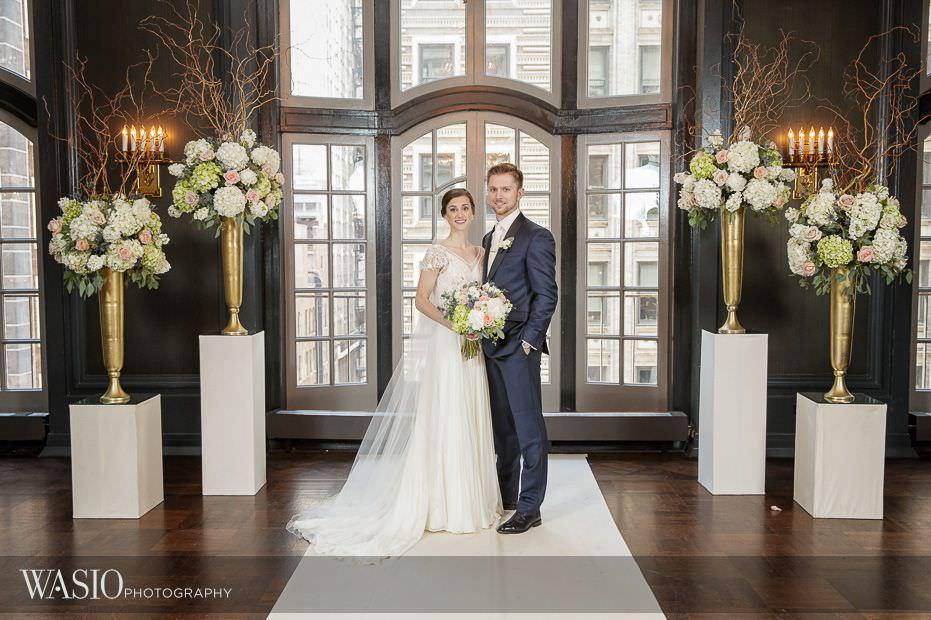 Chicago-Athletic-Association-Wedding-ceremony-bride-groom-portrait-099 Chicago Athletic Association Wedding - Allison and Clayton