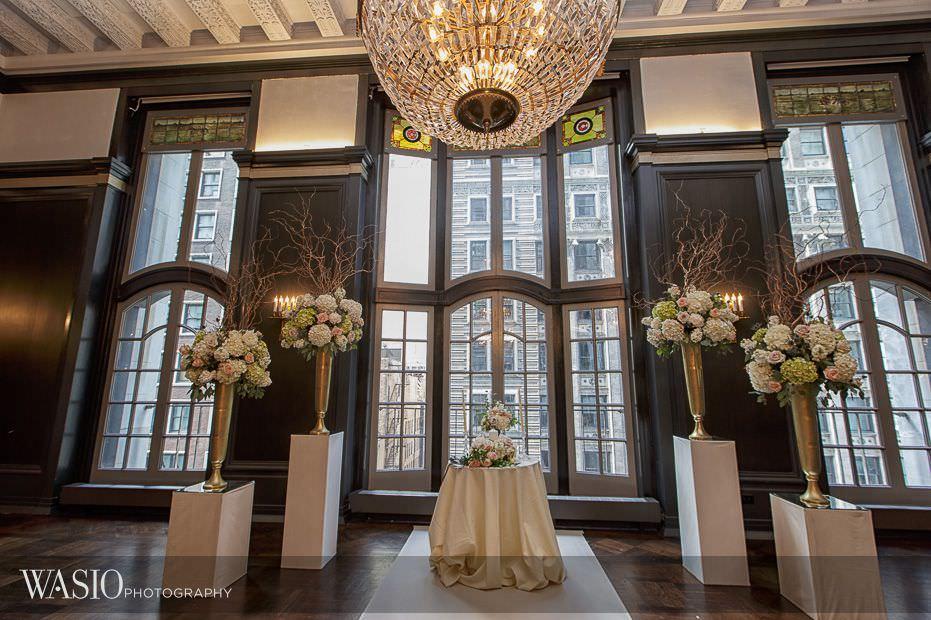 Chicago-Athletic-Association-Wedding-ceremony-chandelier-room-decor-112 Chicago Athletic Association Wedding - Allison and Clayton